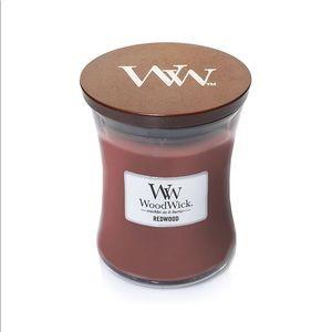 Woodwick Redwood Mini Hourglass Candle